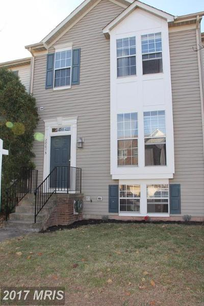 Ashburn Townhouse For Sale: 20673 Southwind Terrace