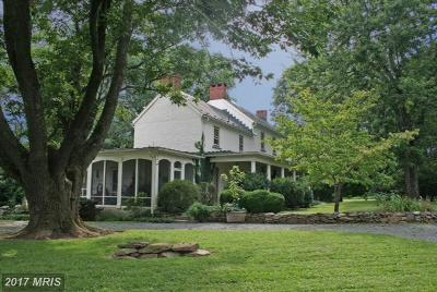 Purcellville Farm For Sale: 19606 Telegraph Springs Road