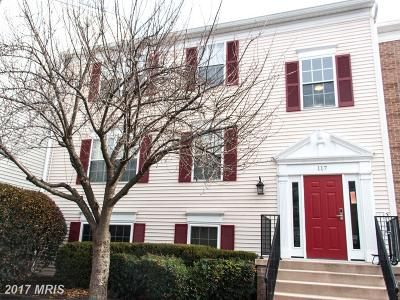 Leesburg Condo For Sale: 117 Fort Evans Road SE #C