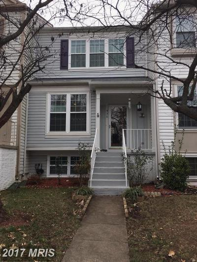 Leesburg Townhouse For Sale: 326 Stable View Terrace NE