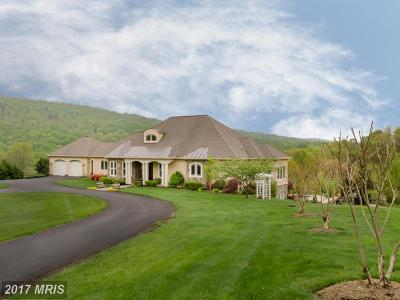 Bluemont, Paris, Middleburg, Upperville, Hamilton, Hillsboro, Lovettsville, Paeonian Springs, Purcellville, Round Hill, Waterford Single Family Home For Sale: 12060 Catoctin Farm Lane