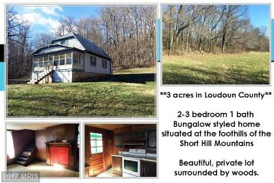 Lovettsville Single Family Home For Sale: 13413 Mountain Road