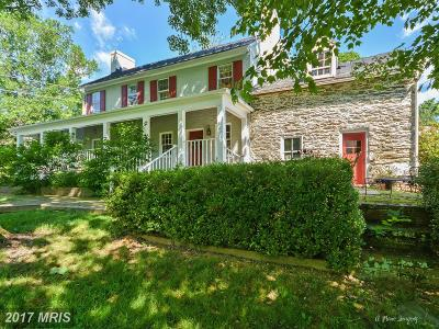 Bluemont, Paris, Middleburg, Upperville, Hamilton, Hillsboro, Lovettsville, Paeonian Springs, Purcellville, Round Hill, Waterford Single Family Home For Sale: 14774 Milltown Road