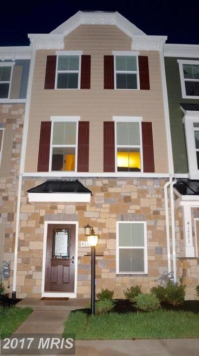 Aldie Townhouse For Sale: 41771 McMonagle Square