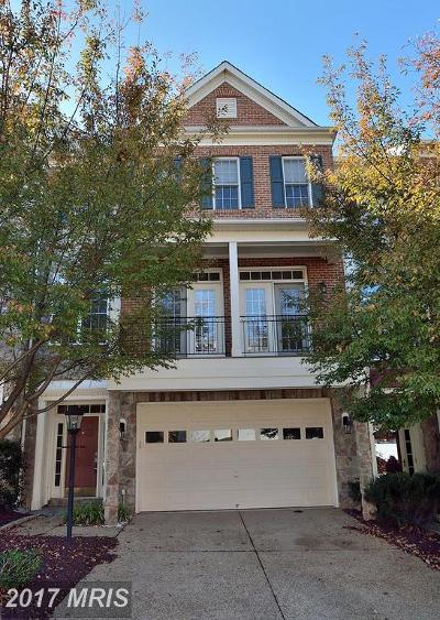 Leesburg Townhouse For Sale: 43721 Lees Mill Square