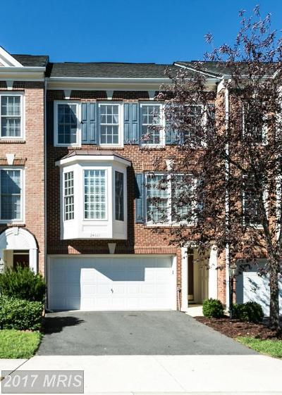 Aldie Townhouse For Sale: 24661 Clock Tower Square