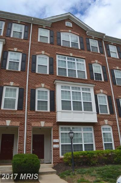 Ashburn Townhouse For Sale: 22791 Settlers Trail Terrace