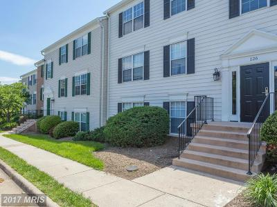 Leesburg Condo For Sale: 126 Fort Evans Road SE #B