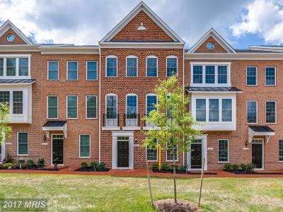 Leesburg Townhouse For Sale: 280 Train Whistle Terrace SE