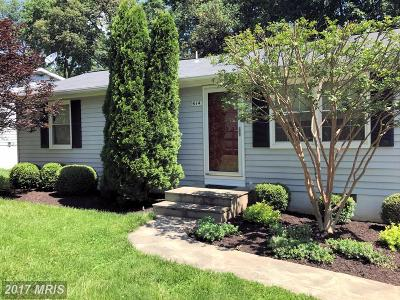 Leesburg Single Family Home For Sale: 614 York Lane SE