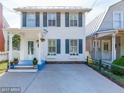 Leesburg Single Family Home For Sale: 418 King Street S