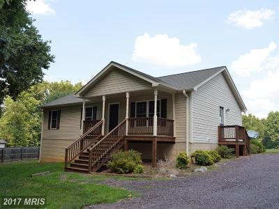 Culpeper Single Family Home For Sale: 2014 Leon Road