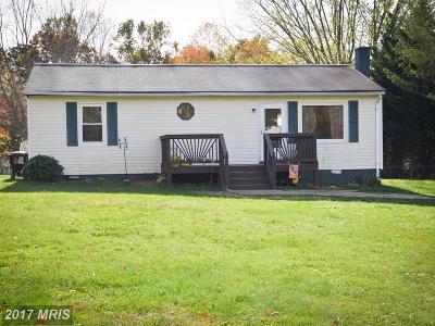 Culpeper Single Family Home For Sale: 1500 Fords Shop Road