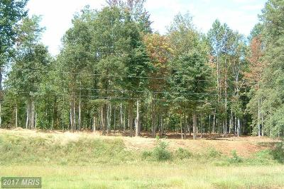 Rappahannock, Fauquier, Madison, Culpeper Residential Lots & Land For Sale: Seminole Trail