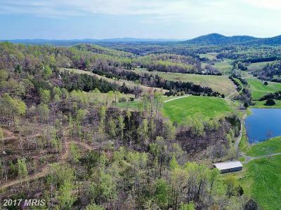 Rappahannock, Fauquier, Madison, Culpeper Residential Lots & Land For Sale: Ruth Road