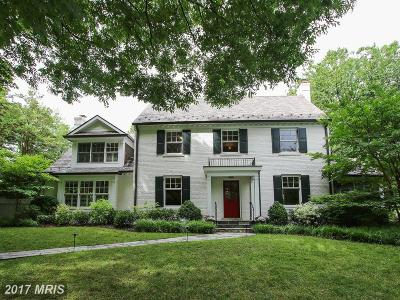 Chevy Chase Single Family Home For Sale: 5700 Kirkside Drive