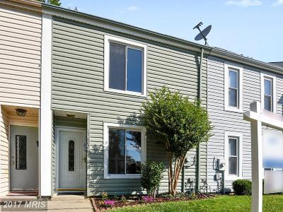 Gaithersburg Townhouse For Sale: 17602 Shady Spring Terrace