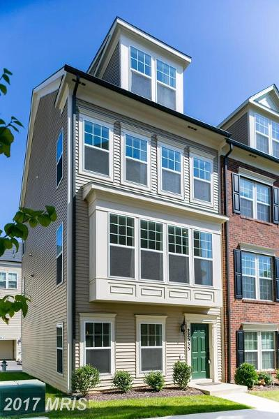 Clarksburg Townhouse For Sale: 22533 Phillips Street #1501