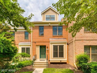 Bethesda Townhouse For Sale: 5105 King Charles Way