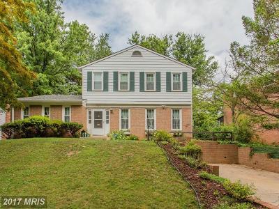 Silver Spring Single Family Home For Sale: 702 Malibu Drive