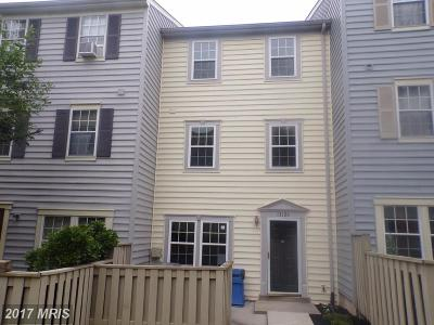 Silver Spring Townhouse For Sale: 13126 Conductor Way #187
