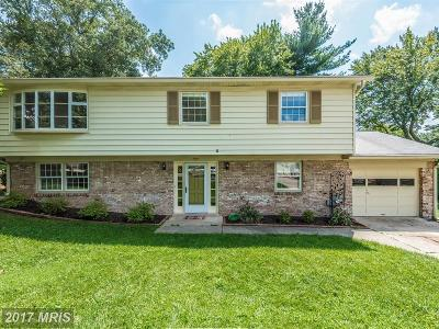 Gaithersburg Single Family Home For Sale: 3 Marquis Drive