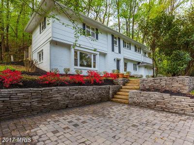 Bethesda Single Family Home For Sale: 6208 Bradley Boulevard