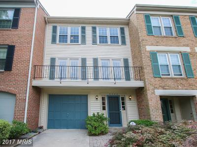 Gaithersburg Townhouse For Sale: 9524 Duffer Way