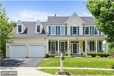 Germantown Single Family Home For Sale: 3 Milestone Manor Court