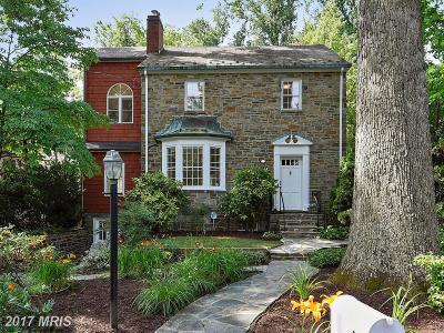 Bethesda Single Family Home For Sale: 5620 Oak Place