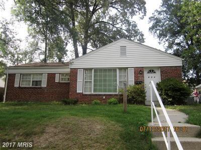 Takoma Park Single Family Home For Sale: 804 Bayfield Street