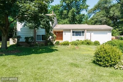 Derwood Single Family Home For Sale: 17701 Millcrest Drive