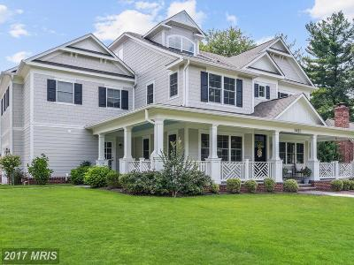 Bethesda Single Family Home For Sale: 5421 Albia Road