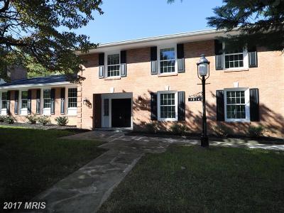 Kensington Single Family Home For Sale: 9814 Connecticut Avenue