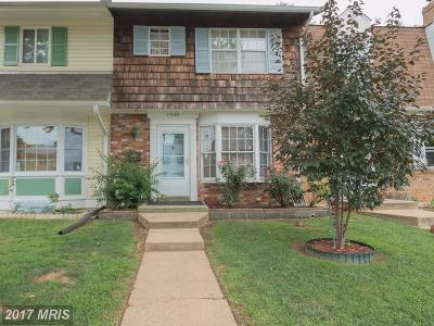 Gaithersburg Townhouse For Sale: 17603 Larchmont Terrace