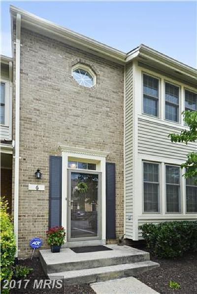Montgomery Townhouse For Sale: 6 Hickory Hill Court