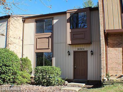 Gaithersburg Townhouse For Sale: 9025 Centerway Road