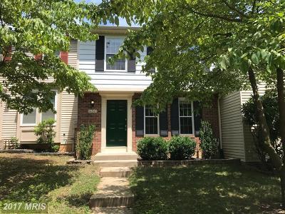 Burtonsville Townhouse For Sale: 14241 Ballinger Terrace