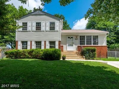 Kensington Single Family Home For Sale: 3823 Archer Place