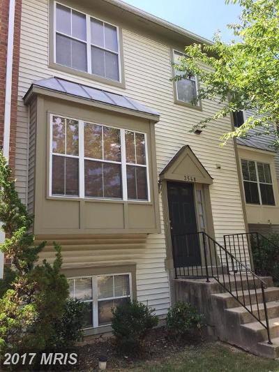 Olney Townhouse For Sale: 3548 Softwood Terrace