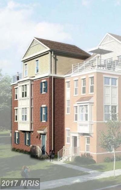 Clarksburg Townhouse For Sale: 501550 Cabin Branch Avenue