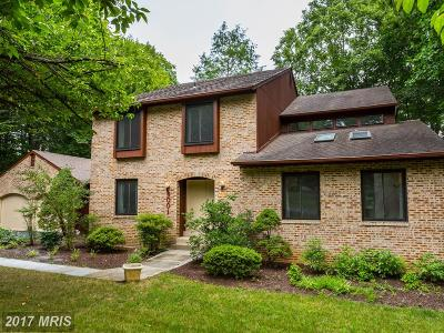 Cabin John Single Family Home For Sale: 8001 Cypress Grove Lane