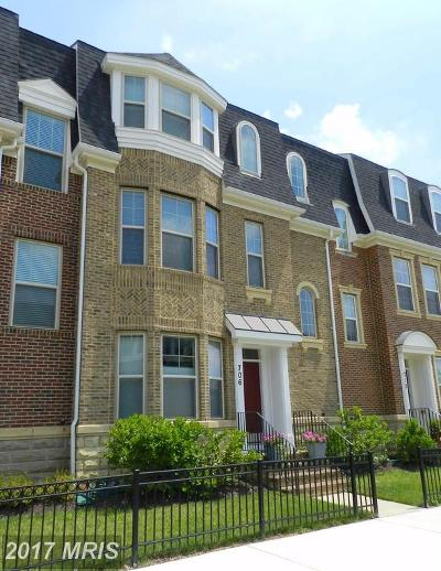 Gaithersburg Townhouse For Sale: 706 Crown Park Avenue