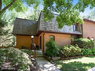 Potomac Townhouse For Sale: 10883 Deborah Drive