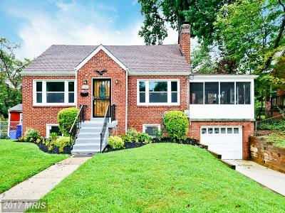 Silver Spring Single Family Home For Sale: 604 Wayne Avenue