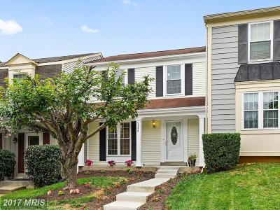 Gaithersburg Townhouse For Sale: 9248 Broadwater Drive