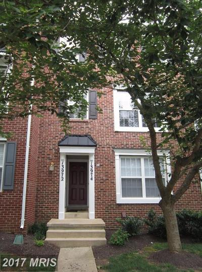 Germantown Townhouse For Sale: 13972 Lullaby Road #4