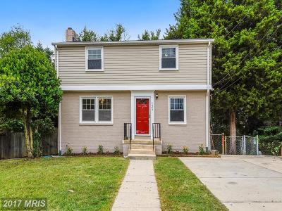 Takoma Park MD Single Family Home For Sale: $439,900