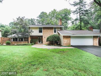 Bethesda Single Family Home For Sale: 7617 Carteret Road