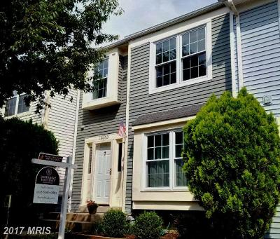 Gaithersburg Townhouse For Sale: 18353 Hallmark Court